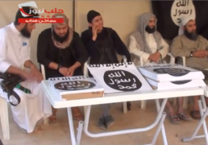 ISIS pizza party, praise be to Allah for His spicy halal meatlover's blessings