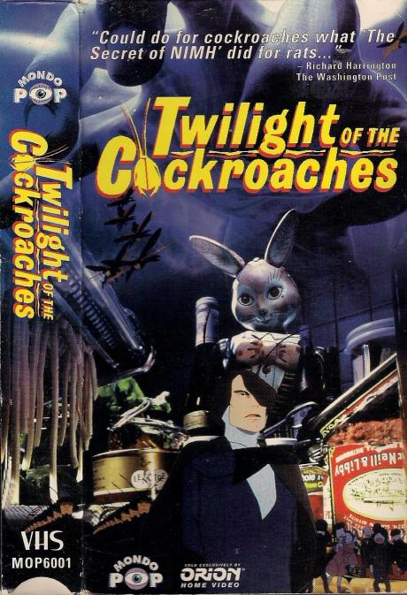 Twilight of the Cockroaches VHS cover