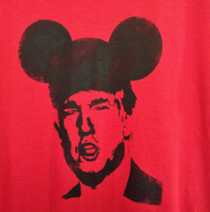 Donald Trump Mickey Mouse